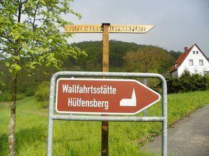 Betend und zu Fuß vom Klüschen zum Hülfensberg