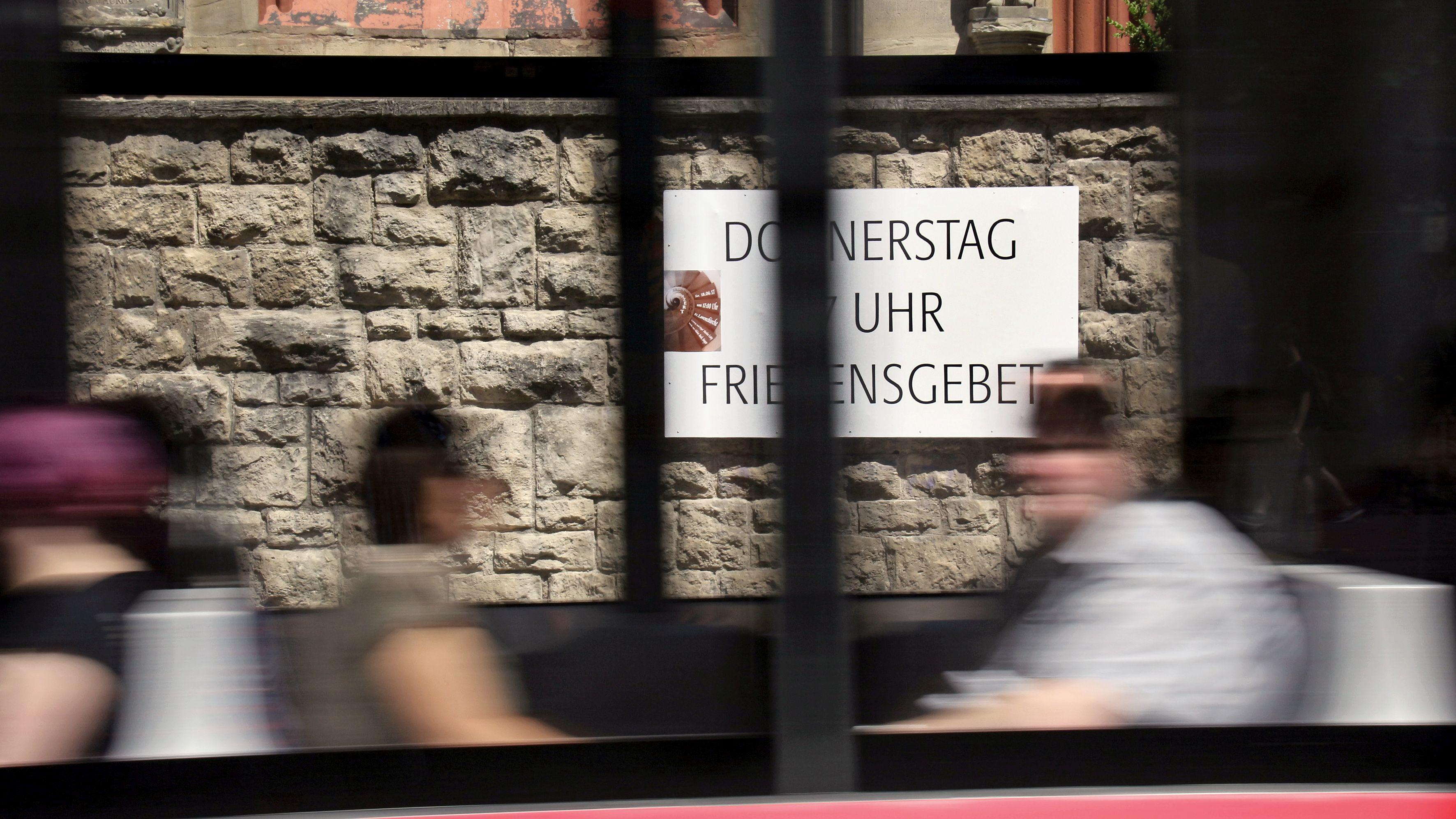 Erste Friedensgebete schon 1978 in Erfurt